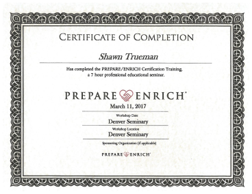 Prepare and Enrich Certificate